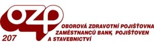 Oborová zdravotní pojišťovna zaměstnanců bank a pojišťoven - logo