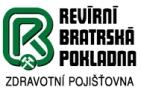 Revírní bratrská pokladna, zdravotní pojišťovna - logo